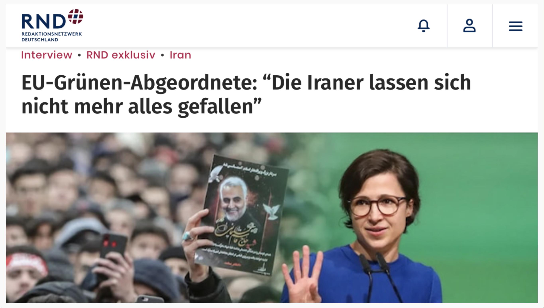 Screenshot RedaktionsNetzwerk Deutschland