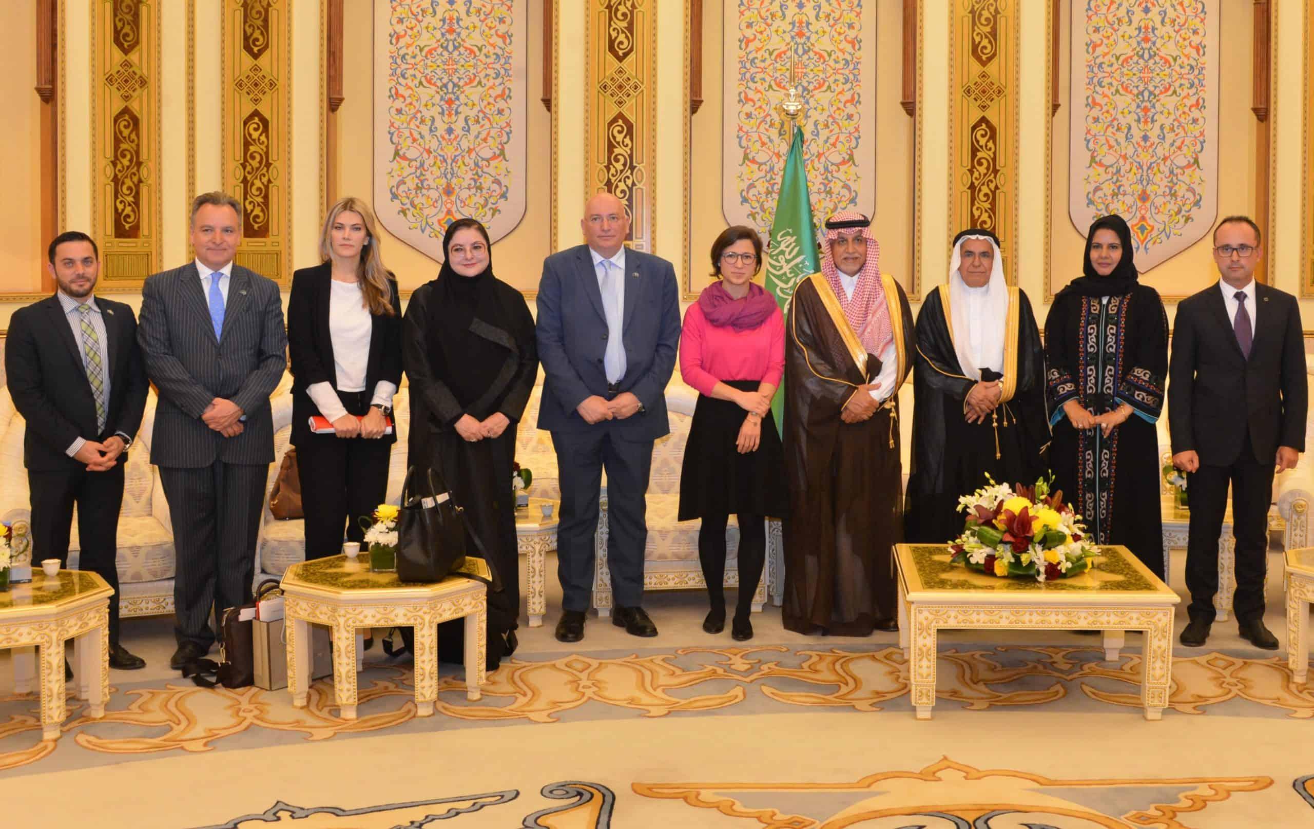Freundschaftsausschusses des Schura Councels mit der Delegation des Europäischen Parlaments