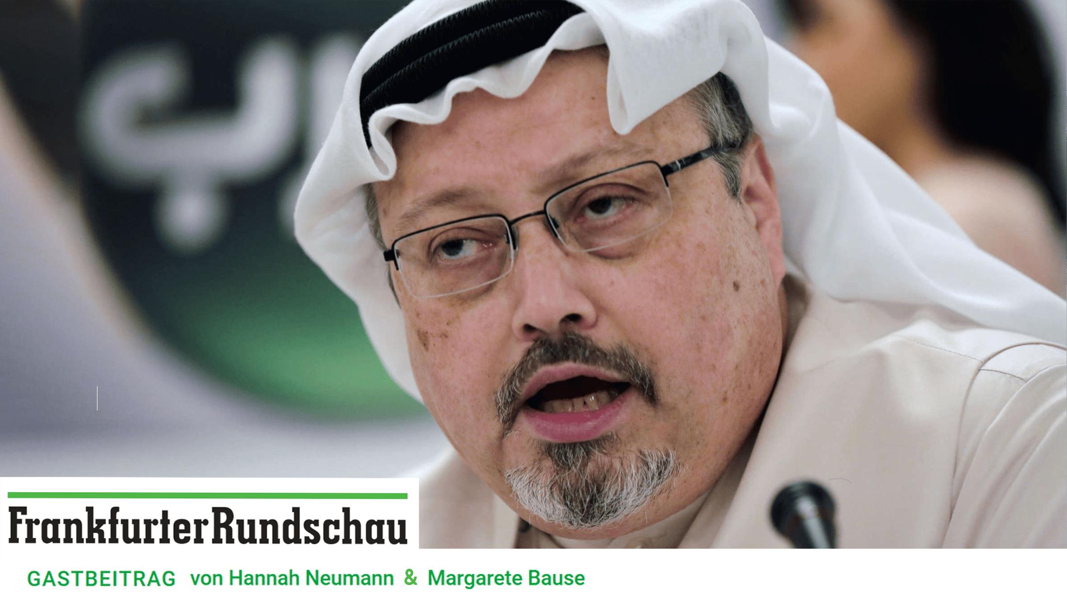 Kashoggi Frankfurter Rundschau_OpEd