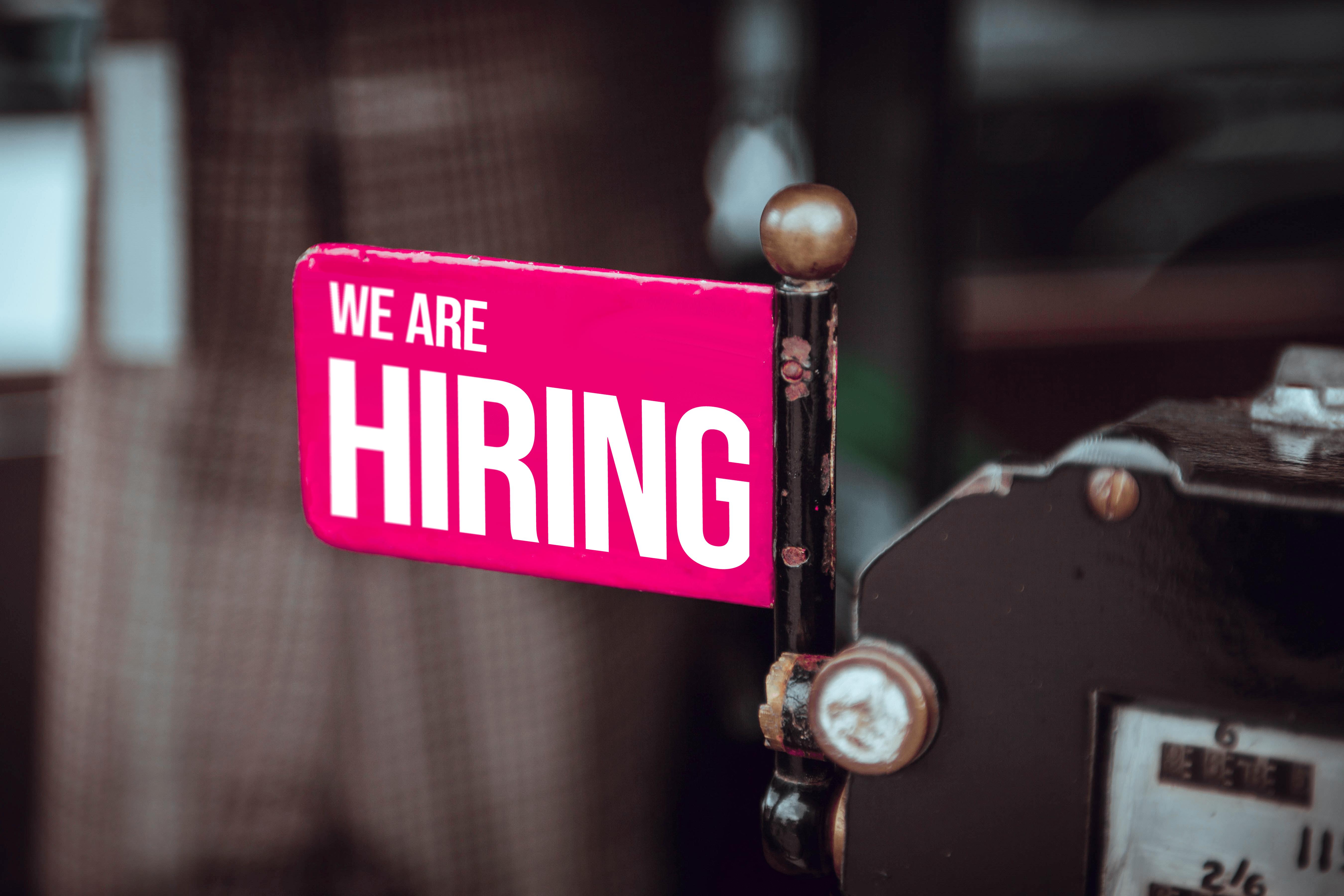 We're hiring! Stellenausschreibung Persönliche Assistenz/Office Management im Brüsseler Büro
