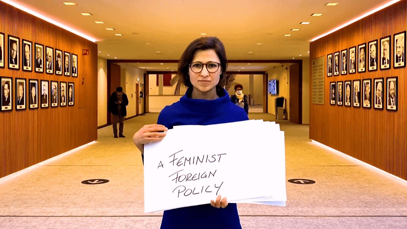 """Die Europäische """"Friedens""""-Fazilität, Feministische Außenpolitik und 10 Jahre Krieg in Syrien"""