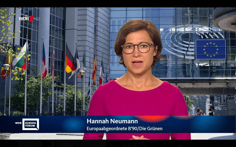 Hannah Neumann WDR-Europaforum