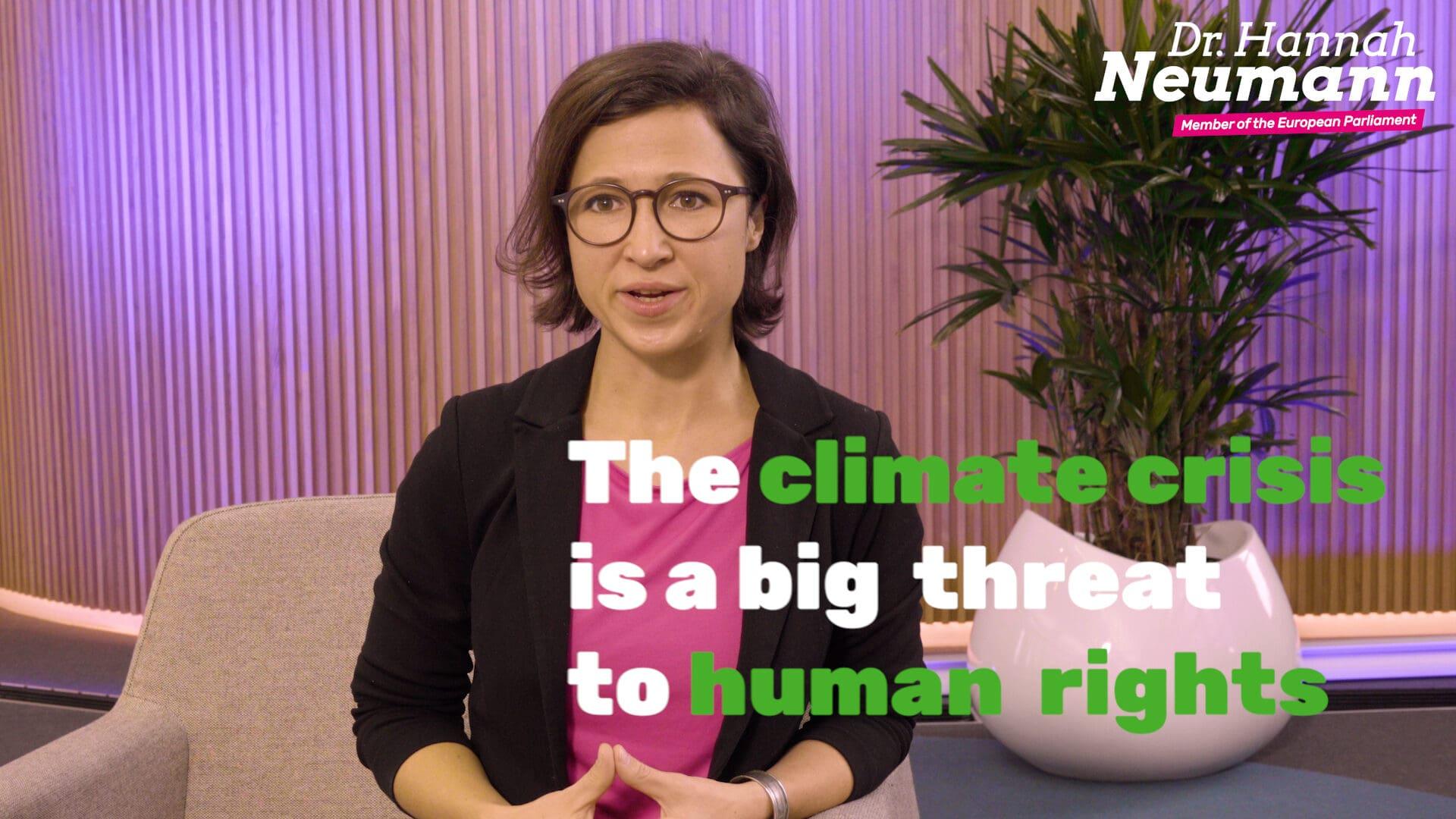 """Bericht zum Thema """"Klima und Menschenrechte"""" und der Fall Steven Donziger"""