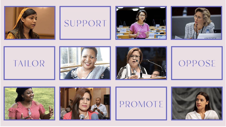 Parliamentarians for Global Action: Wir fordern ein Ende der Gewalt gegen Parlamentarierinnen