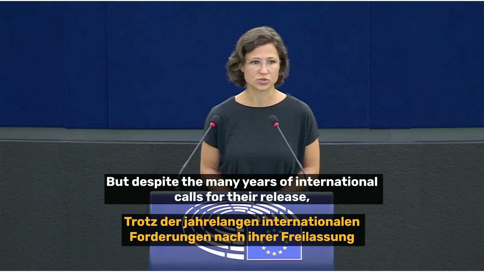 Gefangene Menschenrechtsaktivist*innen in den VAE: Meine Plenarrede