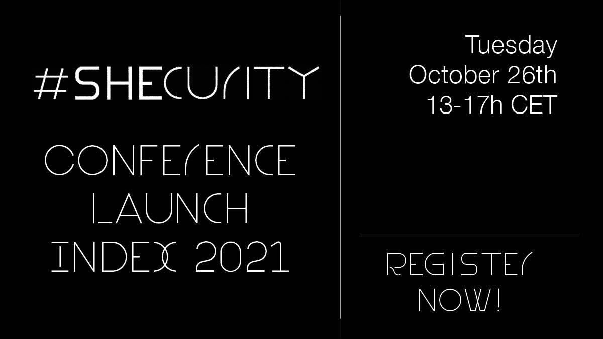 #SHEcurity: Online event for the launch of the 2nd edition