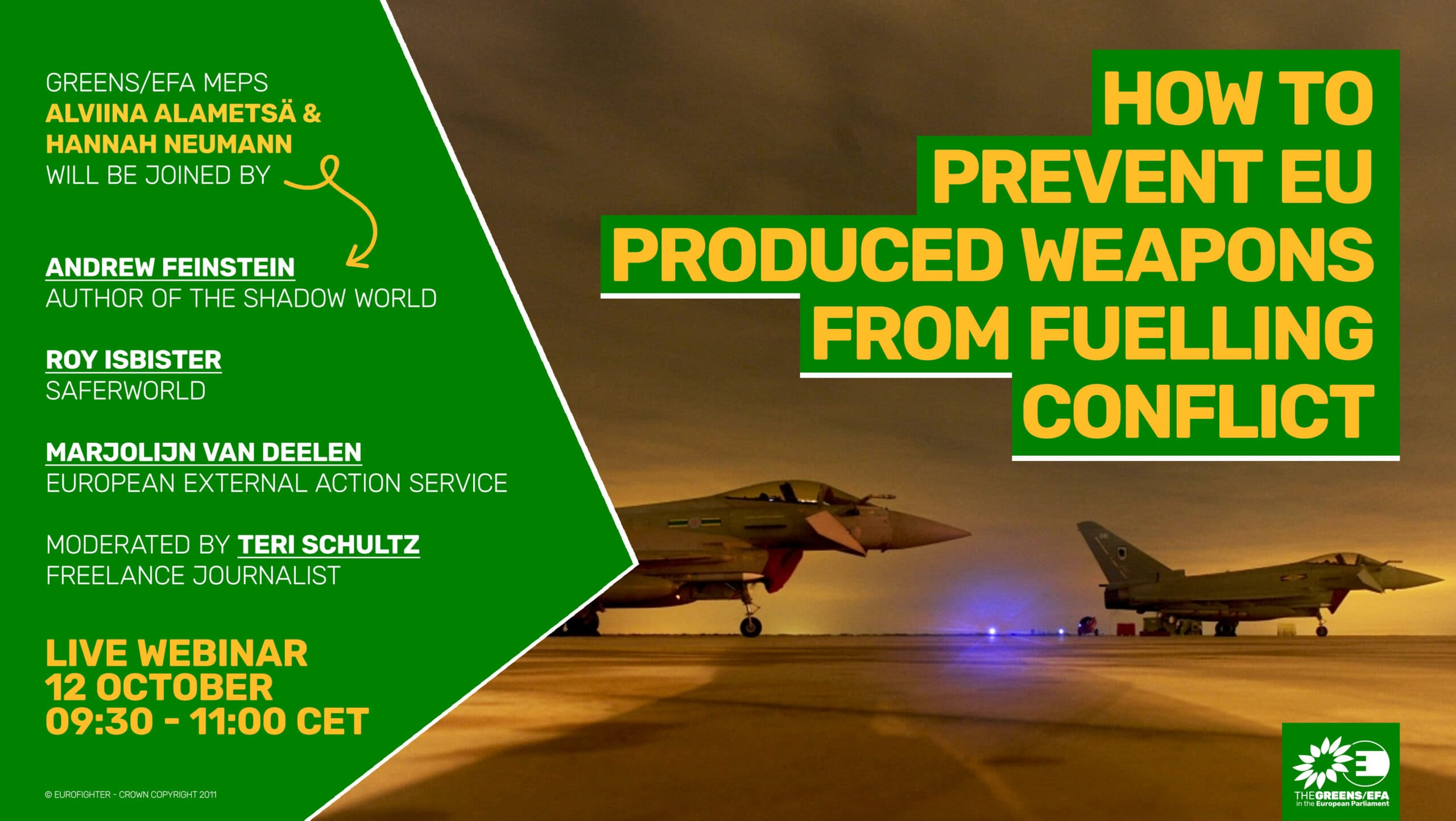 Campaign launch: How to prevent EU produced weapons from fuelling conflict
